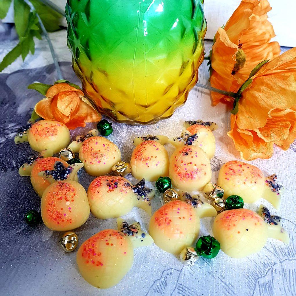 Pineapple And Frangipani